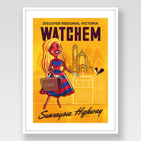 Watchem Print Gold