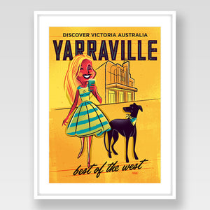 Yarraville Print Yellow