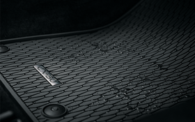 All Weather Floor Mats - Low Wall Type