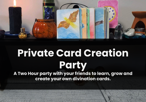 Private Card Creation Party