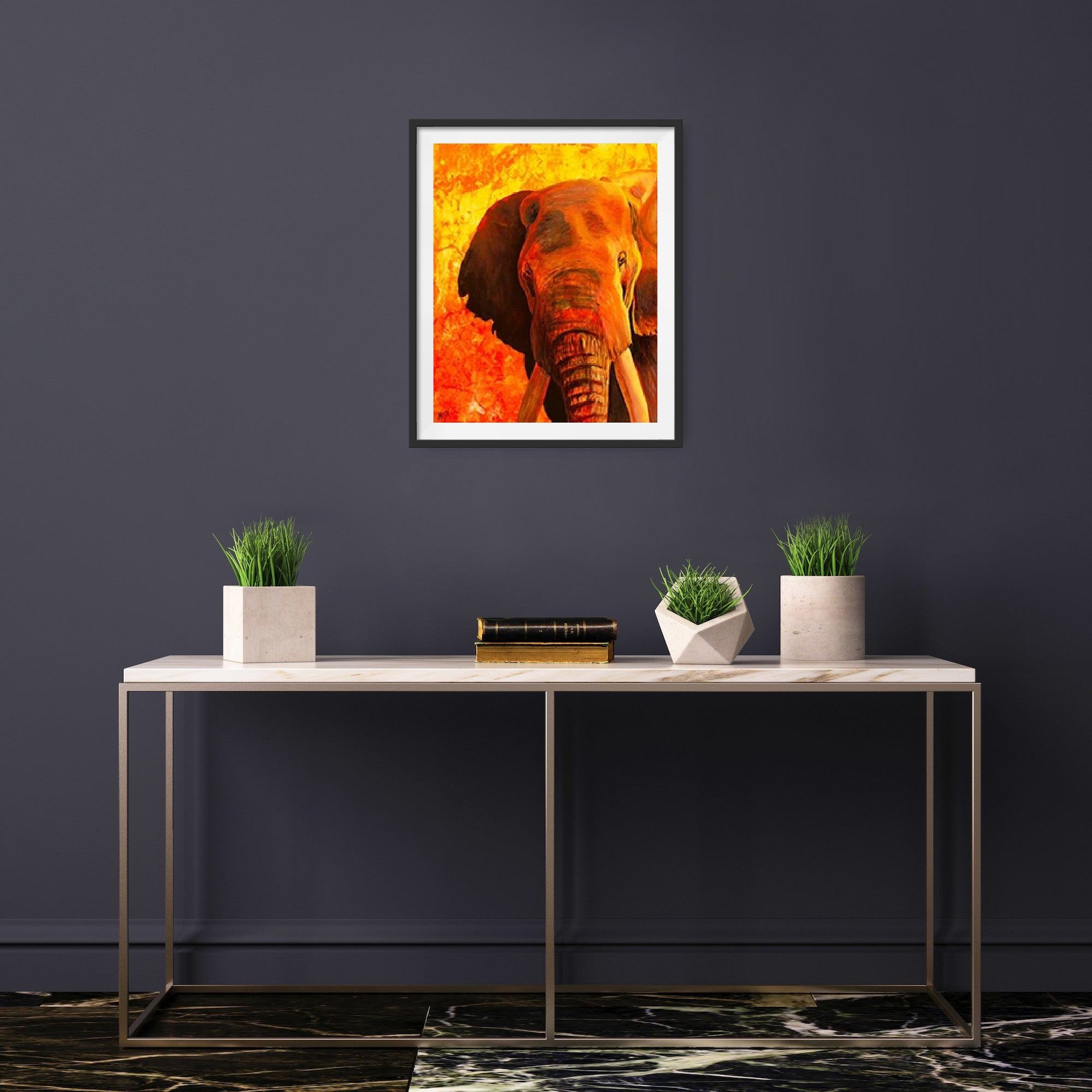 Mother Elephant || Giclée Print