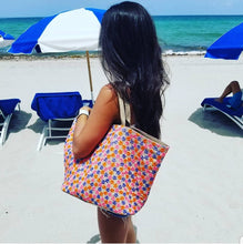 Load image into Gallery viewer, Flor Beach Bag