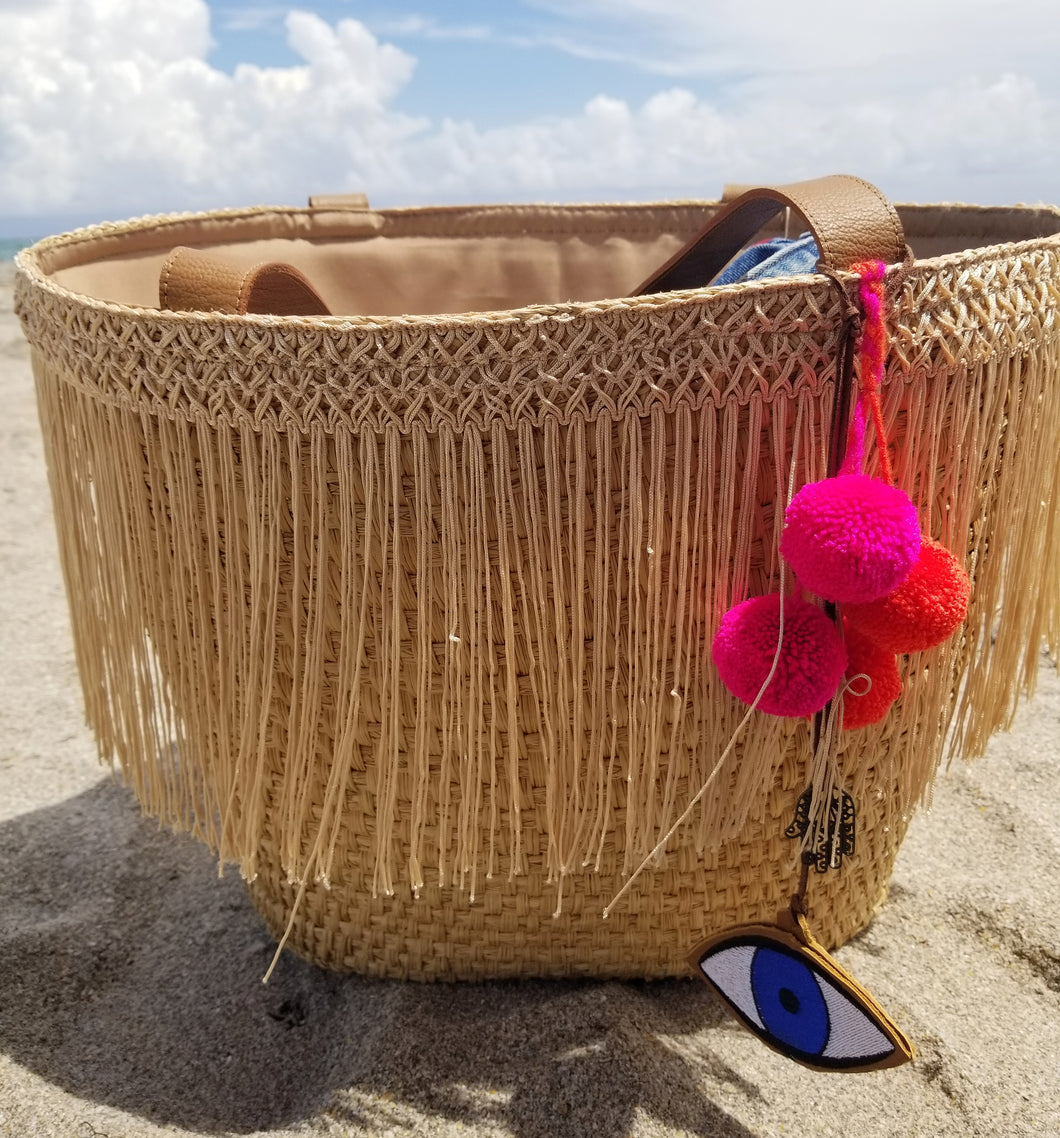 Mazal Beach Bag | 2 color options