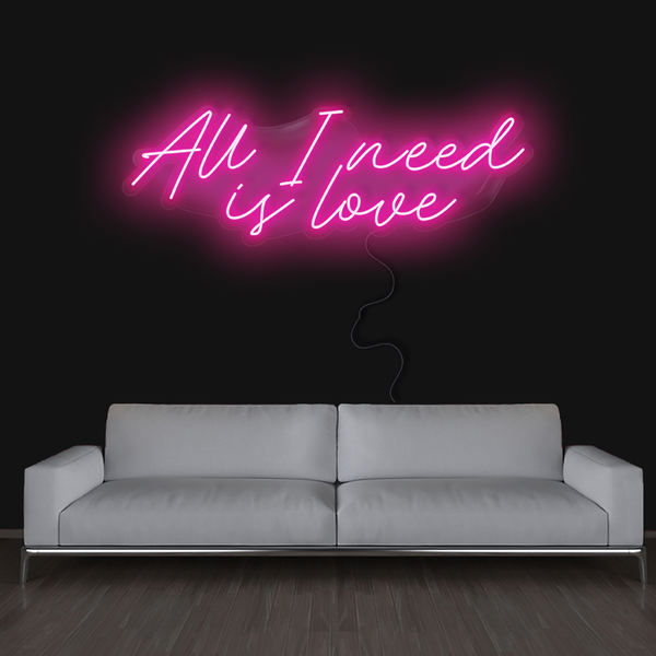 ALL I NEED IS LOVE