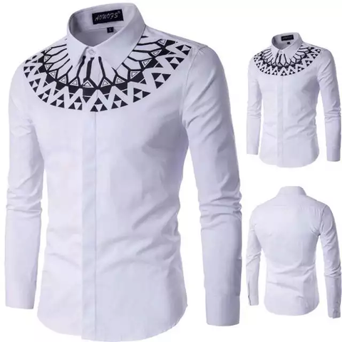 Mens pattern shirt
