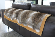 Load image into Gallery viewer, Rabbit fur throw
