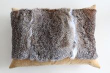 Load image into Gallery viewer, Rabbit fur cushion tussock
