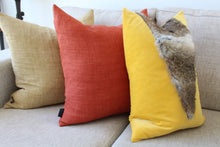Load image into Gallery viewer, Rabbit fur cushions