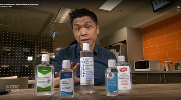How To Know If A Sanitizer Is Safe To Use: CBC News