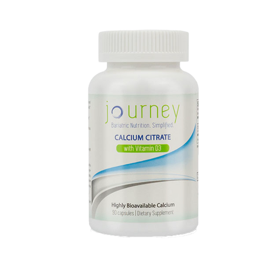 Journey Bariatric Calcium Citrate with Vitamin D3