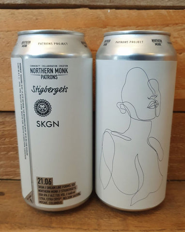 Northern Monk x Stigbergets - Dream Lines Form 21:06 DDH IPA 7% 440ml