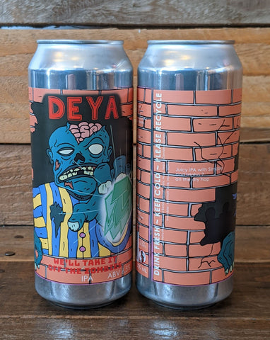 Deya - We'll Take It Off The Zombies IPA 6.5% 500ml