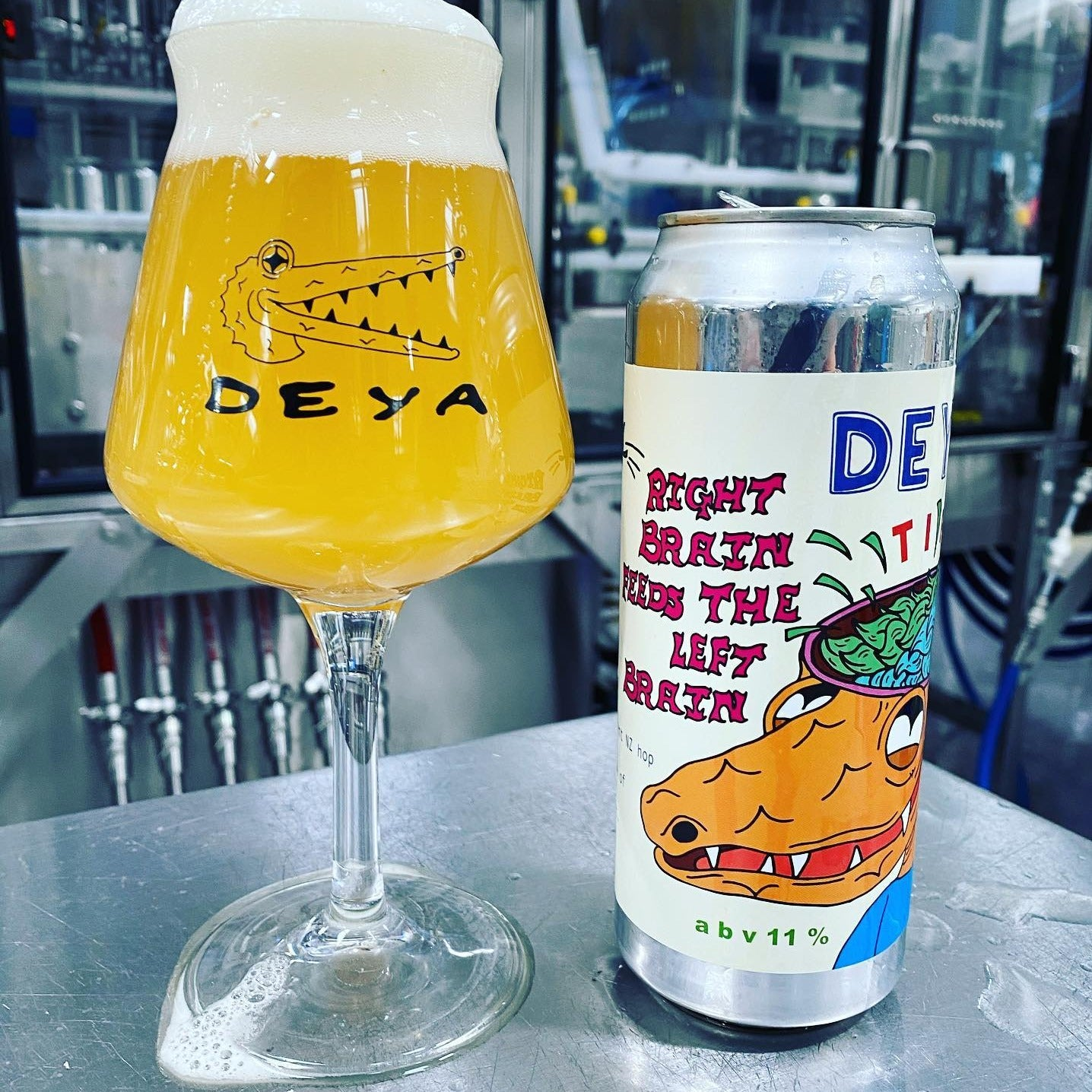 Deya - Right Brain Feeds The Left Brain TIPA 11% 500ml