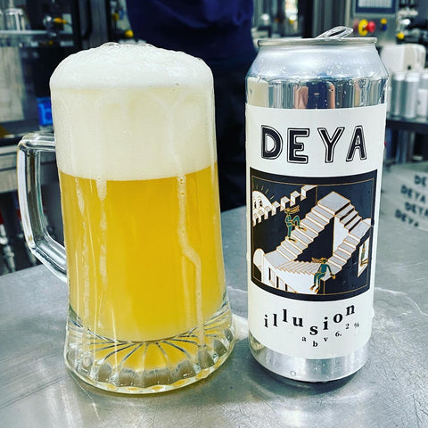 Deya - Illusion IPA 6.2% 500ml