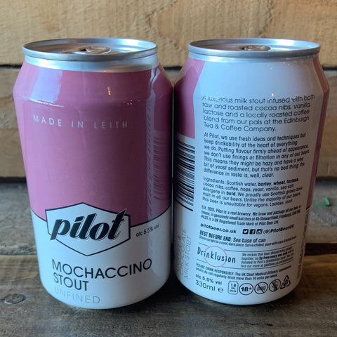 Pilot - Mochaccino Stout 5.5% 330ml