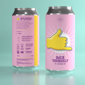Oso Brew Co - Back Yourself Citra IPA 6.8% 440ml