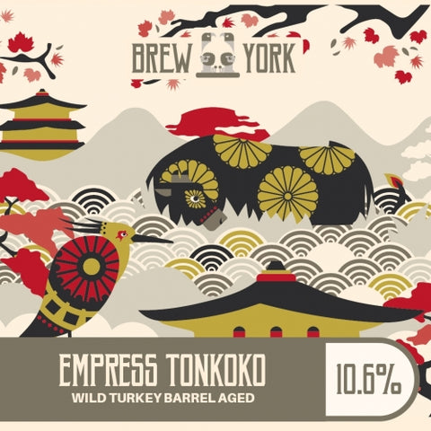 Brew York - Empress Tonkoko Wild Turkey BA (500ml Draught Growler) Stout 10.6%