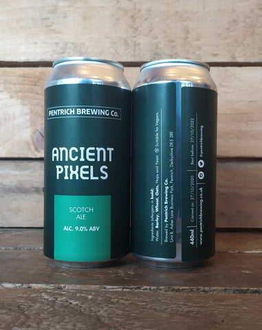 Pentrich - Ancient Pixels Scotch Ale 9.0% 440ml