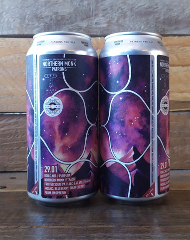 Northern Monk x Track - Patrons Project 29.01 PurPura Sour IPA 6.4% 440ml