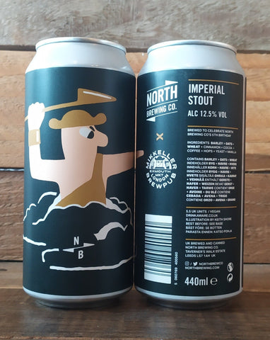 North Brewing Co x Mikkeller - Imperial Stout 12.5% 440ml