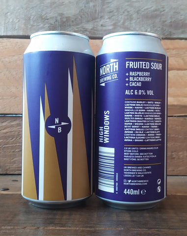North Brewing Co - High Windows Sour 6.0% 440ml