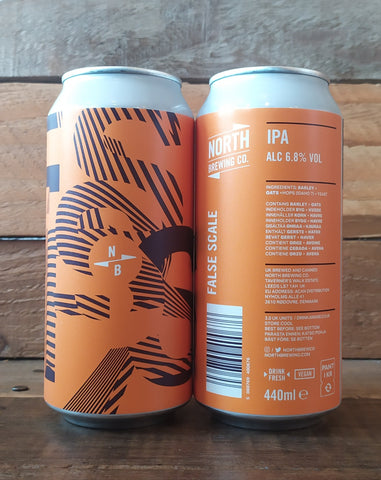 North Brewing Co - False Scale IPA 6.8% 440ml