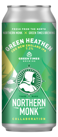 Northern Monk - Green Heathen 2021 IPA 7.2% 440ml