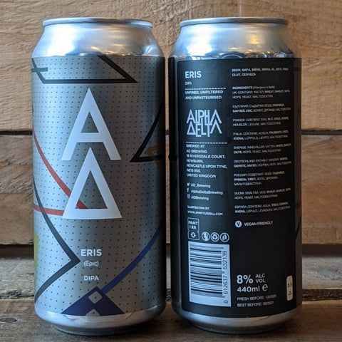 Alpha Delta - Eris DIPA 8% 440ml