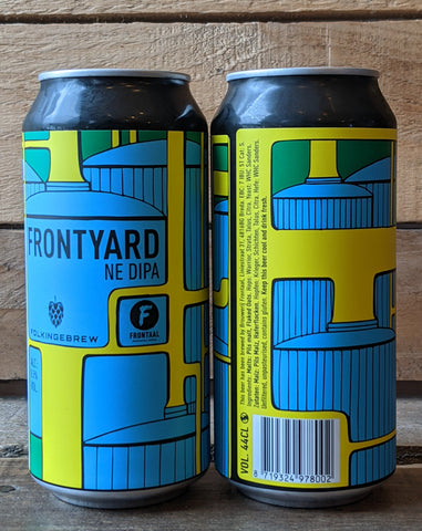 Folkingbrew x Frontal - Frontyard NE DIPA 8.5% 440ml