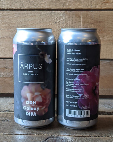 Arpus - DDH Galaxy DIPA 8% 440ml