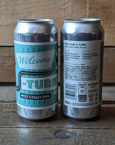 Verdant - Welcome U-Turn West Coast DIPA 8% 440ml