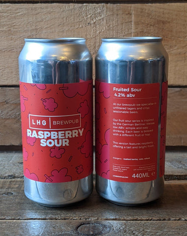Left Handed Giant - Raspberry Sour 4.2% 440ml