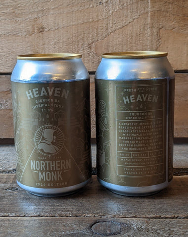 Northern Monk - Heaven Bourbon BA Imperial Stout 11% 330ml