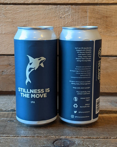Pomona Island - Stillness Is The Move IPA 6.5% 440ml