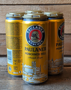 Paulaner - 4 x Munich Lager 4.9% 500ml Pack