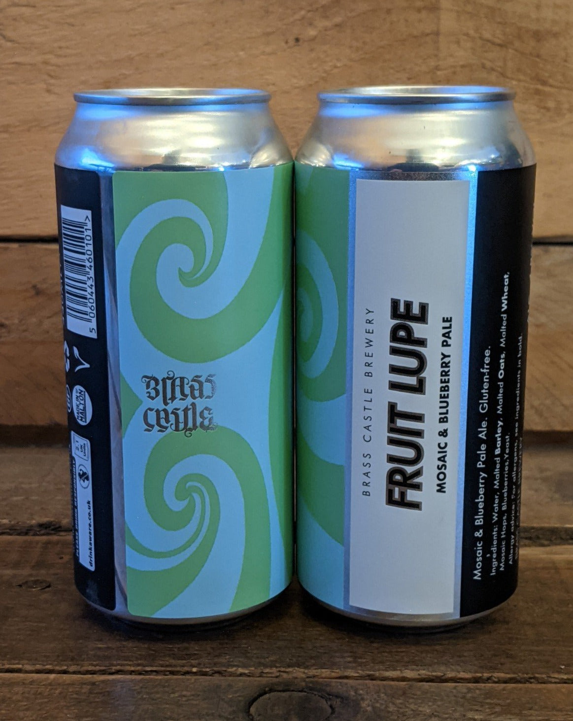 Brass Castle - Fruit Lupe Mosaic & Blueberry Pale GF 4.8% 440ml