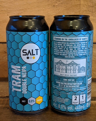 Salt - Tram New England DIPA 8% 440ml