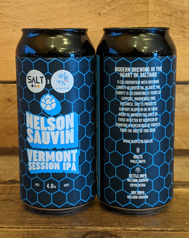 Salt - Nelson Sauvin Vermont Session IPA 4.8% 440ml