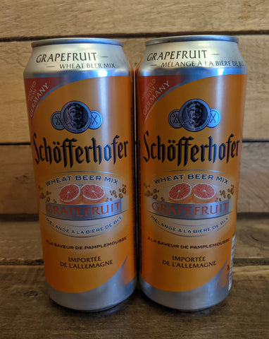 Schofferhofer Grapefruit Wheat Radler 2.5% 500ml