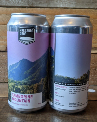 Pressure Drop - Tambourine Mountain DDH NE Pale 5.8% 440ml