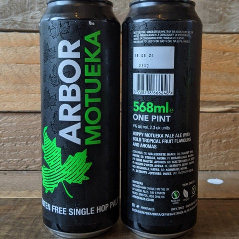Arbor - Motueka Single Hop Pale Ale GF 4% 568ml