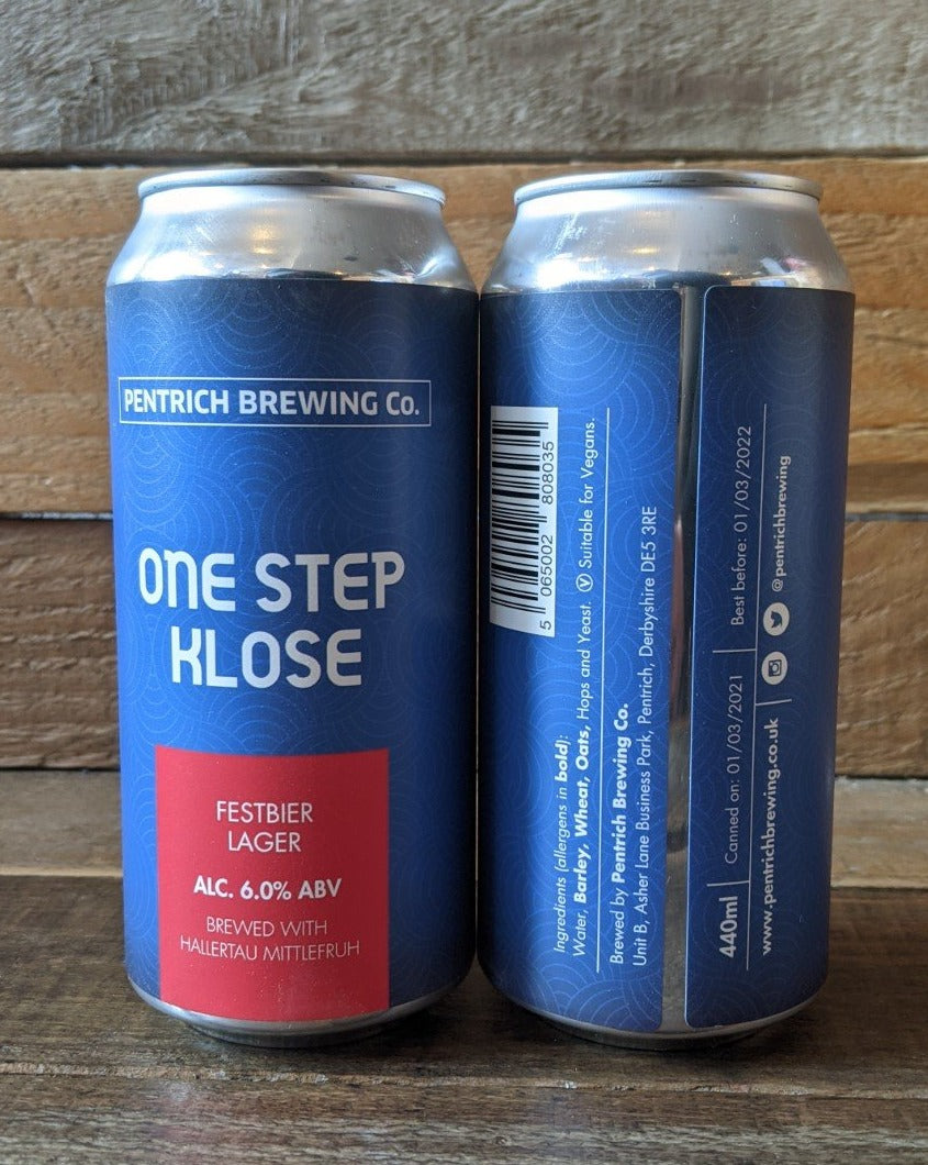 Pentrich - One Step Klose Festbier Lager 6% 440ml