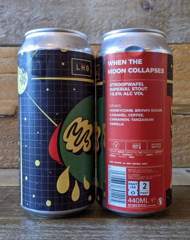 LHG - When The Moon Collapses Stroopwafel Stout 10.5% 440ml