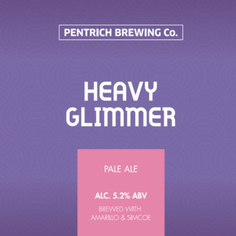 Pentrich - Heavy Glimmer (500ml Draught Growler) Pale Ale 5.2%
