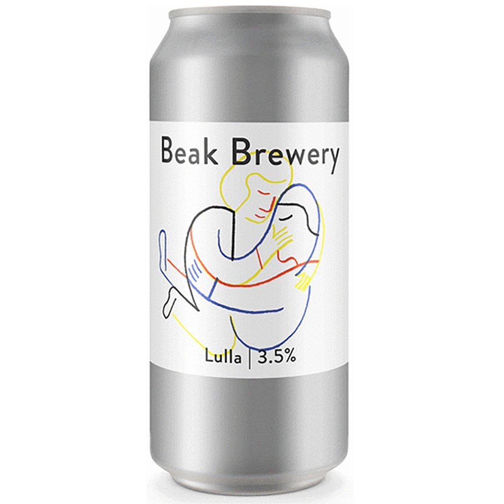 Beak - Lulla Table Pale 3.5% 440ml