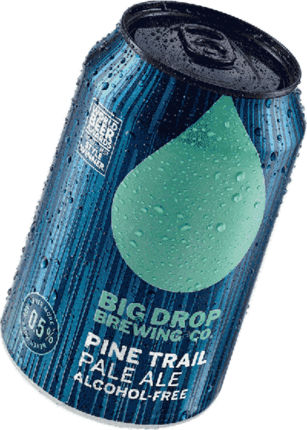 Big Drop - Pine Trail Pale Ale AF 0.5%