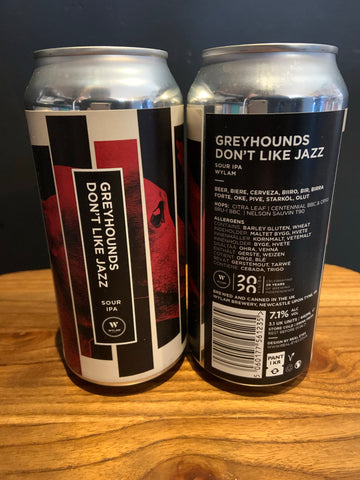 Wylam - Greyhounds Don't Like Jazz Sour IPA 7.1% 440ml