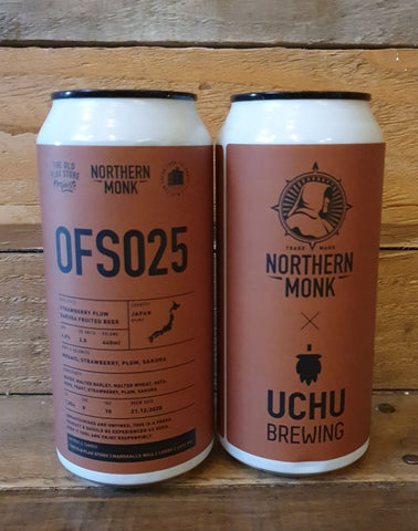 Northern Monk - OFS 025 Fruited Beer 4.5% 440ml