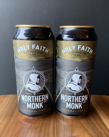 Northern Monk - Holy Faith Hazy Pale Ale 0.5%