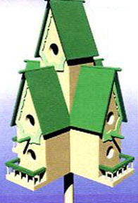 Purple Martin House Castle  PLAN sku#1314